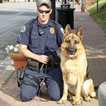 Officer-dog