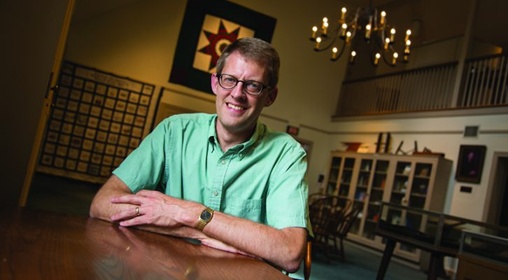 Lifelong  research journey leads Steven Nolt to Young Center